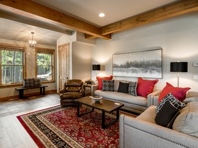 Photo for Luxury 5 bedroom. Private shuttle. Pool & Hot Tubs. 40% Off Fall Stays