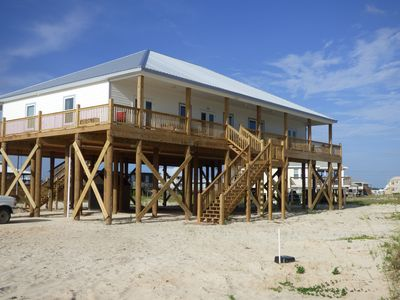 Photo for Beautiful Brand  New 2500 sq ft Beach House Steps from Gulf/Spectacular Views