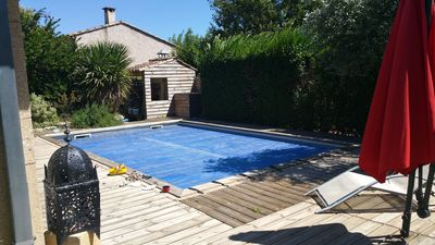 Photo for New! Large air conditioned villa, 6 pers, with swimming pool and quiet garden
