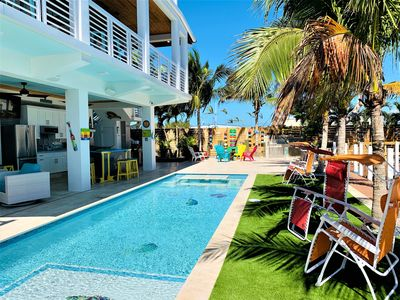 Photo for A Keys Paradise!! 4 Bedrooms 3&1/2 Baths, Pool & Ocean View