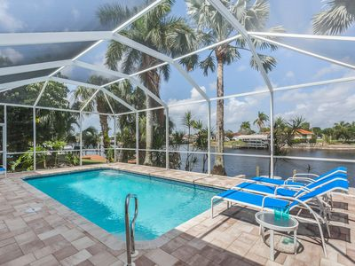 Photo for Spectacular Waterview, New Furnished, heated Pool, easy Gulf Access