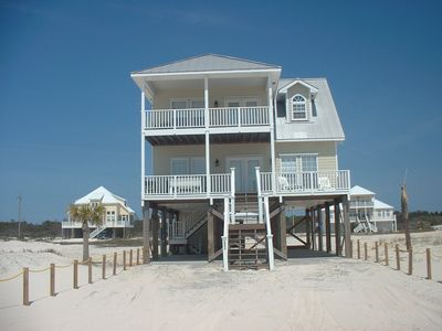 Photo for Beautiful 2 Story Beach House In Fort Morgan Area