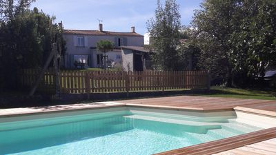 Photo for Spacious and charming house with pool near Marennes Oléron