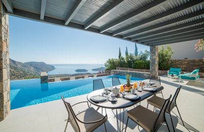 Photo for Villa Sendal is a brand new-build modern Villa with panoramic view to Spinalonga