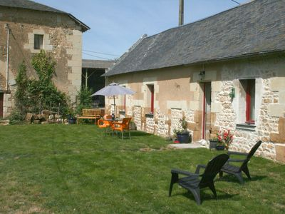 Photo for Beautiful 1 Bedroom Gîte in Rural Historic Area. Suitable for dog/disabled guest