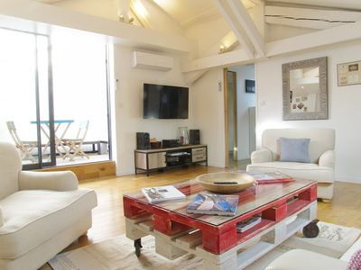 Photo for Furnished apartment of 110m2 on the 3rd floor without elevator