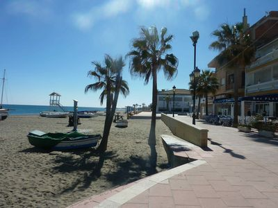Photo for Beautiful penthouse with sea view 4 people San Luis de Sabinillas