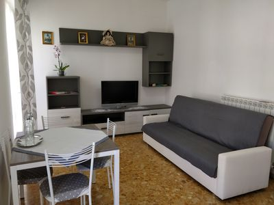 Photo for Completely new one bedroom apartment at 11min walk from the beach of Viareggio