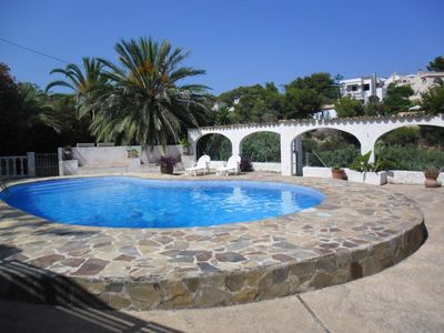 Photo for 5 rooms villa with privat pool.