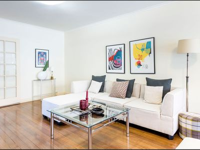 Photo for Spacious apartment in prestigious Toorak