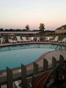 Photo for Lake Hamilton Condo!  Relax on the deck right by the water, Breathtaking view