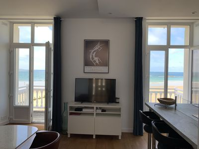 Photo for NEW! Magnificent sea view ... Superb apartment (3 ***) renovated feet in the water