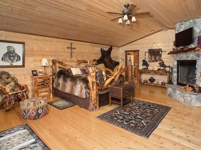 Photo for Single Cabins on a magnificent acres sculpted into 5 fishing ponds and more
