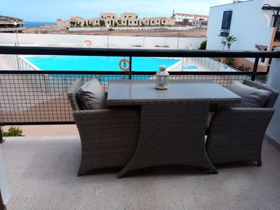 "Photo for Comfortable Sea View Apartment ""RELOAD"", Relax & Sun in Fuerteventura."