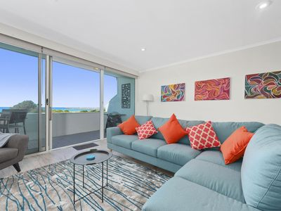Photo for THE FORESHORE APARTMENT - FREE WI-FI, OCEAN VIEWS & WALK TO BEACH