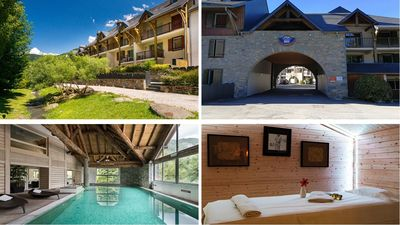 Photo for APART. T4 saint-lary 120m2 In resid. 4 * + swimming pool, sauna WIFI