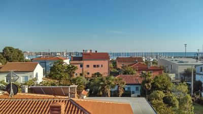 Photo for Apartment In Umag near beach wing, balcony, WiFi, barbecue, parking