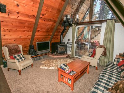 Photo for ~A Frame Of Mind~Added Loft~Quiet Sugarloaf Mountain Home~