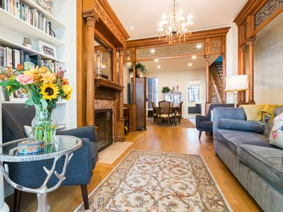 Photo for 4bd/3.5br Prime Location Fam Home/Parking in Hist Capitol Hill/Lincoln Park