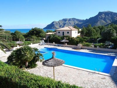 Photo for Beautiful house by the sea with large community swimming  Pool with tennis court