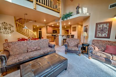Gather with Family & Friends in the Living Room, Dining Room & Kitchen!