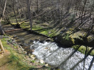 Photo for (New Listing) In Gatlinburg,Creek Front, Free Attraction Tickets!!!
