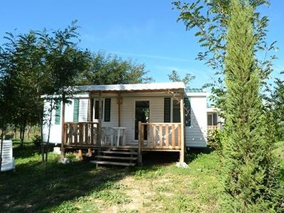 Photo for Camping L'Eau Vive *** - Mobile Home 4 Rooms 6 People