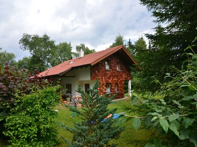 Photo for Beautiful holiday home in the Bavarian Forest with fireplace, terrace and balcony