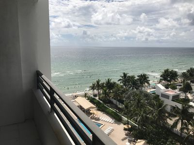 Photo for Alexander Towers Ocean/Beach Front Luxury Condo on the Ninth Floor