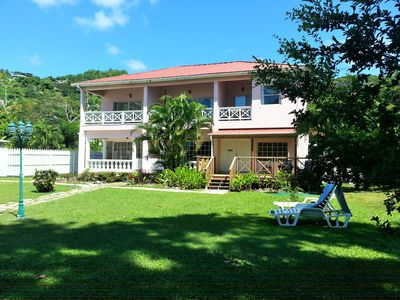 Photo for Unbeatable Ocean Location - Right on famous Grand Anse beach  (Orchid Apt.)