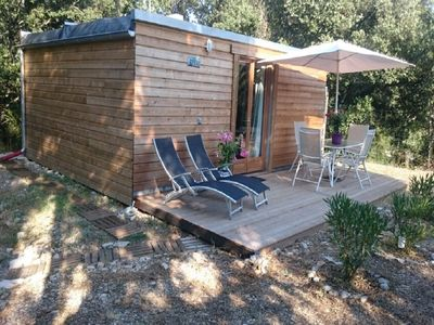 Photo for charming bungalow of 30 m2 in a park very quiet