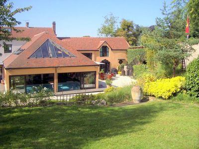 Photo for LARGE FAMILY HOUSE ATYPICAL-Spa-pool - private cabin-secure-access park