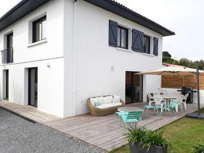 Photo for Renovated villa with garden near Biarritz, beaches and shops