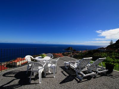Photo for Casa das Escaleiras, Stunning view of the sea, WiFi