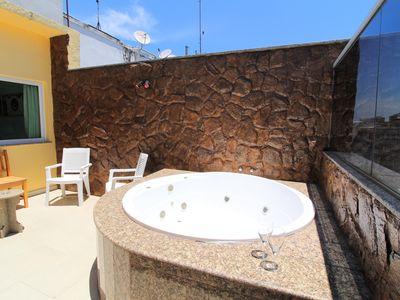 Photo for CaviRio - F1137 - Penthouse with pool, jacuzzi and barbecue