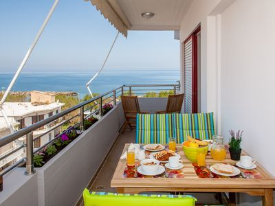 Photo for Stefan's Penthouse Chania with a magnificent view of the sea and perfect location