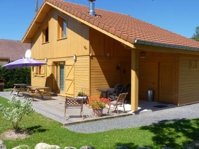 Photo for Lakes cottage 3 * NEW South facing 400m / Lake 900m / Tracks 8 Pers 3Km GERARDMER