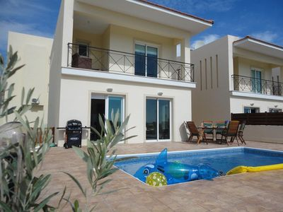Photo for Stylish Villa, Amazing Views, End Villa, Larger Garden and Pool Area. Wifi
