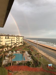 Photo for Ormond Beach Condo with Direct ocean views, oversized balcony on the 5th floor
