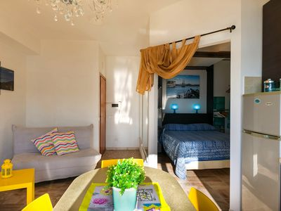 Photo for At the harbour with fantastic sea views - Suite Molo Elba
