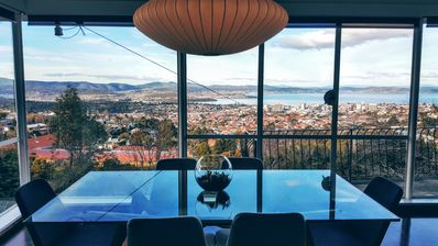 Photo for Hillhaus Hobart. 'Best Views in Hobart' - Qantas Travel Insider