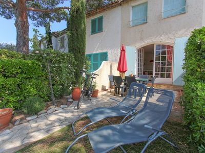 Photo for Close to the beach, 2 bedrooms house  et  16m mooring