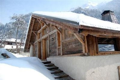 Back exterior in winter
