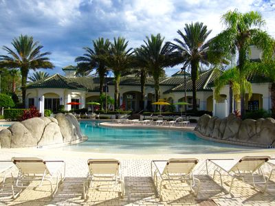 Photo for Poolside 1 Bedroom Condo Close to Disney and Universal!