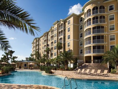 Photo for Stunning 2BR w/ WiFi, Resort Pool, Resort Golf & Just 3 Miles From Disney!