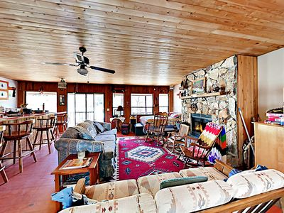 Living Area - Welcome! This studio cabin is professionally managed by TurnKey Vacation Rentals.