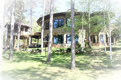 My Lake Home and Tree House( not this rental, this is our Home and logo)