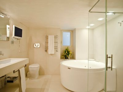 Photo for NAVONA LUXURY DOUBLE ROOM WITH PRIVATE BATHROOM with SHOWER and HYDROMASSAGE