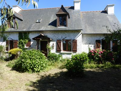 Photo for Beautiful house in the heart of a 800 from the sea in park