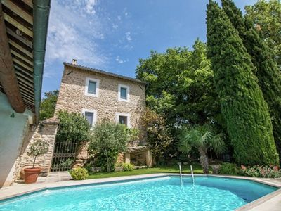 Photo for Magnificent Holiday Home with Swimming Pool in Oppède